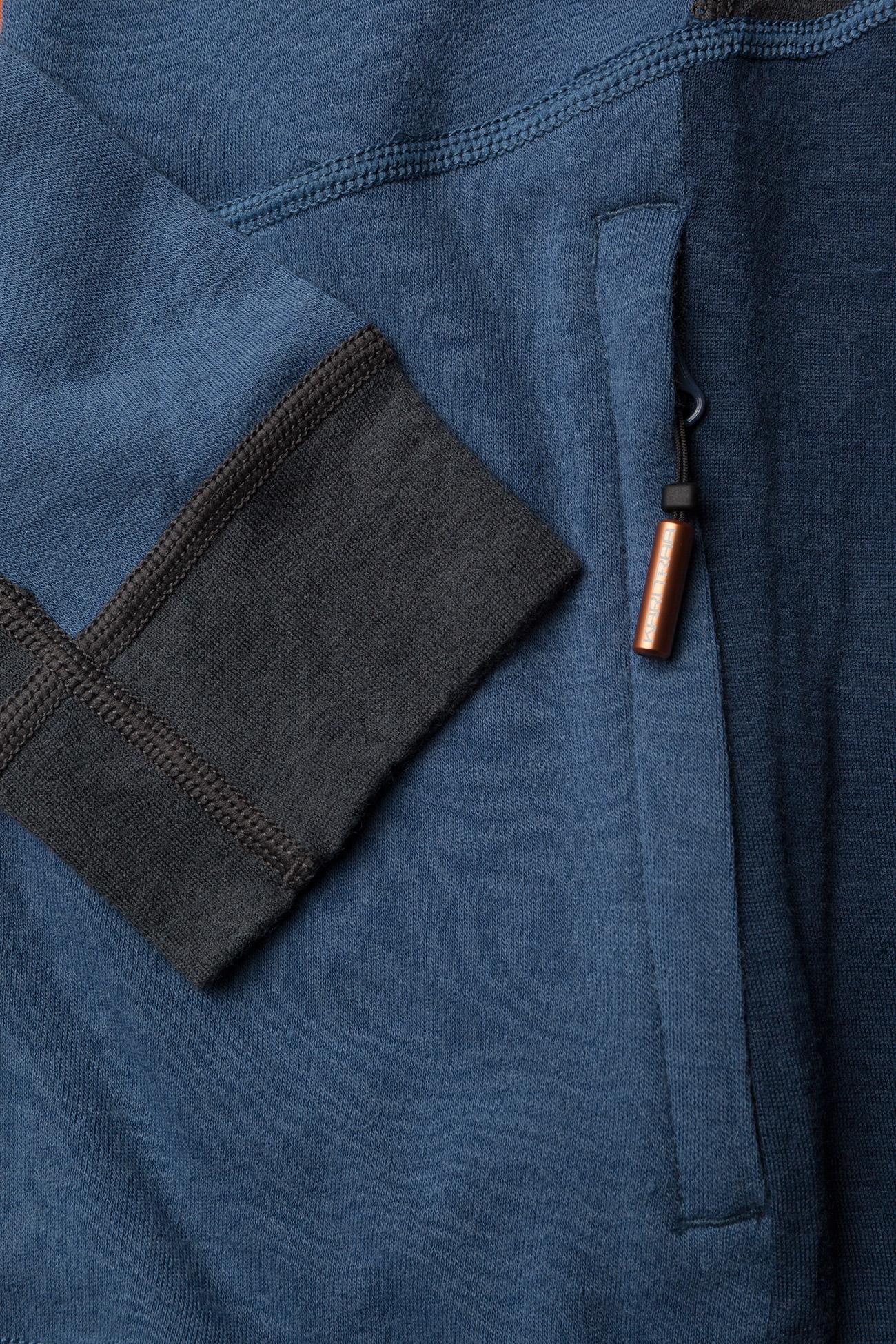 Kari Traa VOSS F/Z FLEECE - Swetry BLUE - Kobiety Odzież.