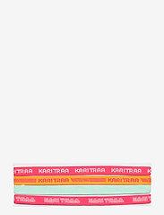 Kari Traa - JANNI HEADBAND 4PK - haarband - shock - 0