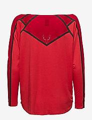 Kari Traa - SILJA LS - bluzki z długim rękawem - chili - 1