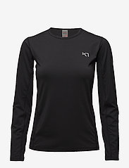 Kari Traa - NORA LS - logo t-shirts - black - 1