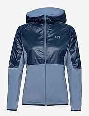 Kari Traa - SVALA HYBRID - training jackets - denim - 1