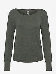 Kari Traa - VICTORIA LS - bluzki z długim rękawem - woods - 0