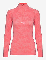 Kari Traa - BUTTERFLY H/Z - thermo ondershirts - guava - 0