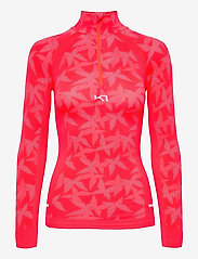 Kari Traa - BUTTERFLY H/Z - thermo ondershirts - shock - 1