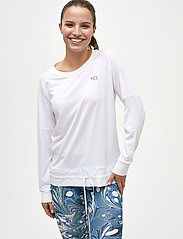 Kari Traa - LINEA LS - bluzki z długim rękawem - bwhite - 0