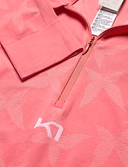 Kari Traa - BUTTERFLY H/Z - thermo ondershirts - guava - 2