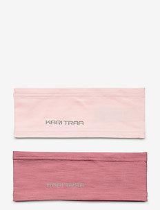 NORA HEADBAND 2PK - hårbånd - lilac