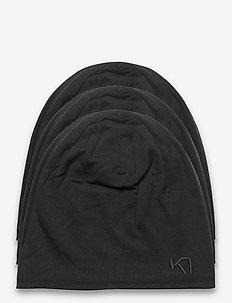 TIKSE BEANIE - bonnets - black