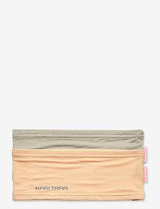 NORA S HEADBAND 2PK - pannband - slate