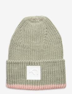 SONGVE BEANIE W - kapelusze - slate