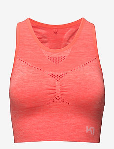 NESS - crop tops - coral