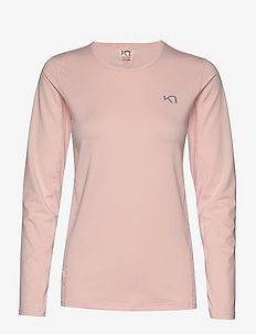 NORA LS - logo t-shirts - flush