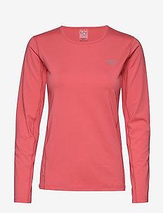 NORA LS - logo t-shirts - kiss