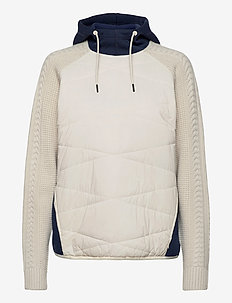 FRE PULLOVER - mid layer jackets - nwhite