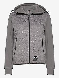 EMMA HYBRID - mid layer jackets - dusty