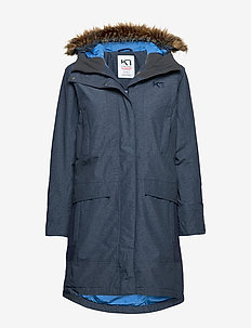 HELLAND PARKA - insulated jackets - naval