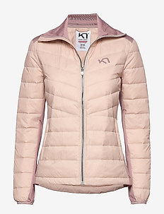 EVA HYBRID - down jackets - pale