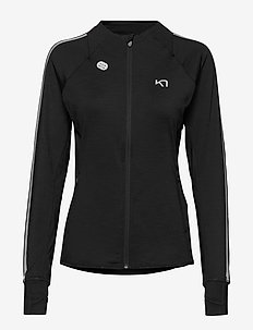 MARIT MIDLAYER - mid layer-jakker - black