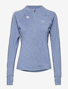 MARIT MIDLAYER - fleece - denim