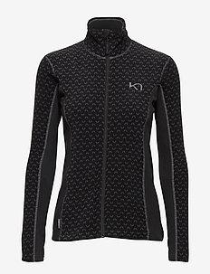 LUS FLEECE - bluzy i swetry - black