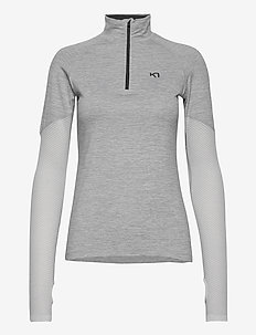 EVA H/Z - bluzki z długim rękawem - greym