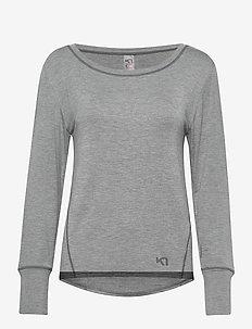 VICTORIA LS - bluzki z długim rękawem - dusty