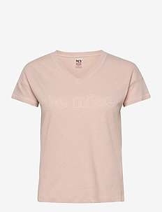 VICTORIA TEE - logo t-shirts - pale