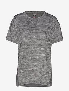 KINE TEE - t-shirts - dusty