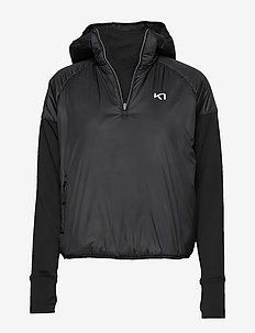 SOLVEIG HYBRID - insulated jackets - black