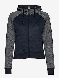NINA HYBRID - mid layer jackets - marin