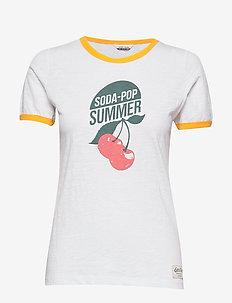 SONGVE TEE - bedruckte t-shirts - nwhite