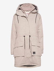 HYDLE PARKA - insulated jackets - clay