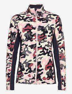 STJERNE FLEECE - mid layer jackets - pearl