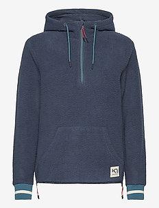 RØTHE HOODIE - mid layer jackets - marin