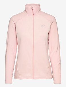 KARI F/Z FLEECE - mellanlager i fleece - pearl