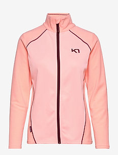 KARI F/Z FLEECE - mid layer jackets - silk