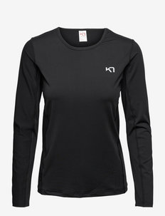 NORA LS - langarmshirts - black