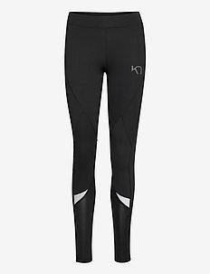 LOUISE TIGHTS - løpe- og treningstights - black