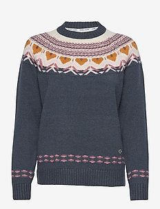 SUNDVE KNIT - pullover - marin