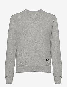 TRAA CREW - sweatshirts - greym