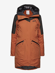 YGRE DOWN PARKA - insulated jackets - umber