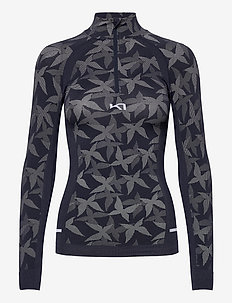 BUTTERFLY H/Z - thermo ondershirts - marin