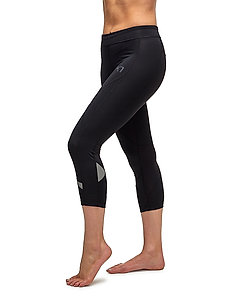 LOUISE 3/4 TIGHTS - running & training tights - blk