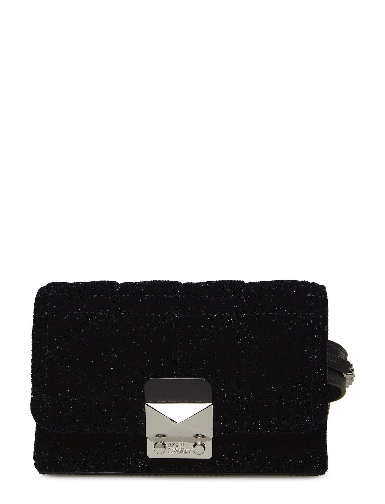 Karl Lagerfeld bags KARL LAGERFLED-Karl X Kaia Velvet Bum Bag