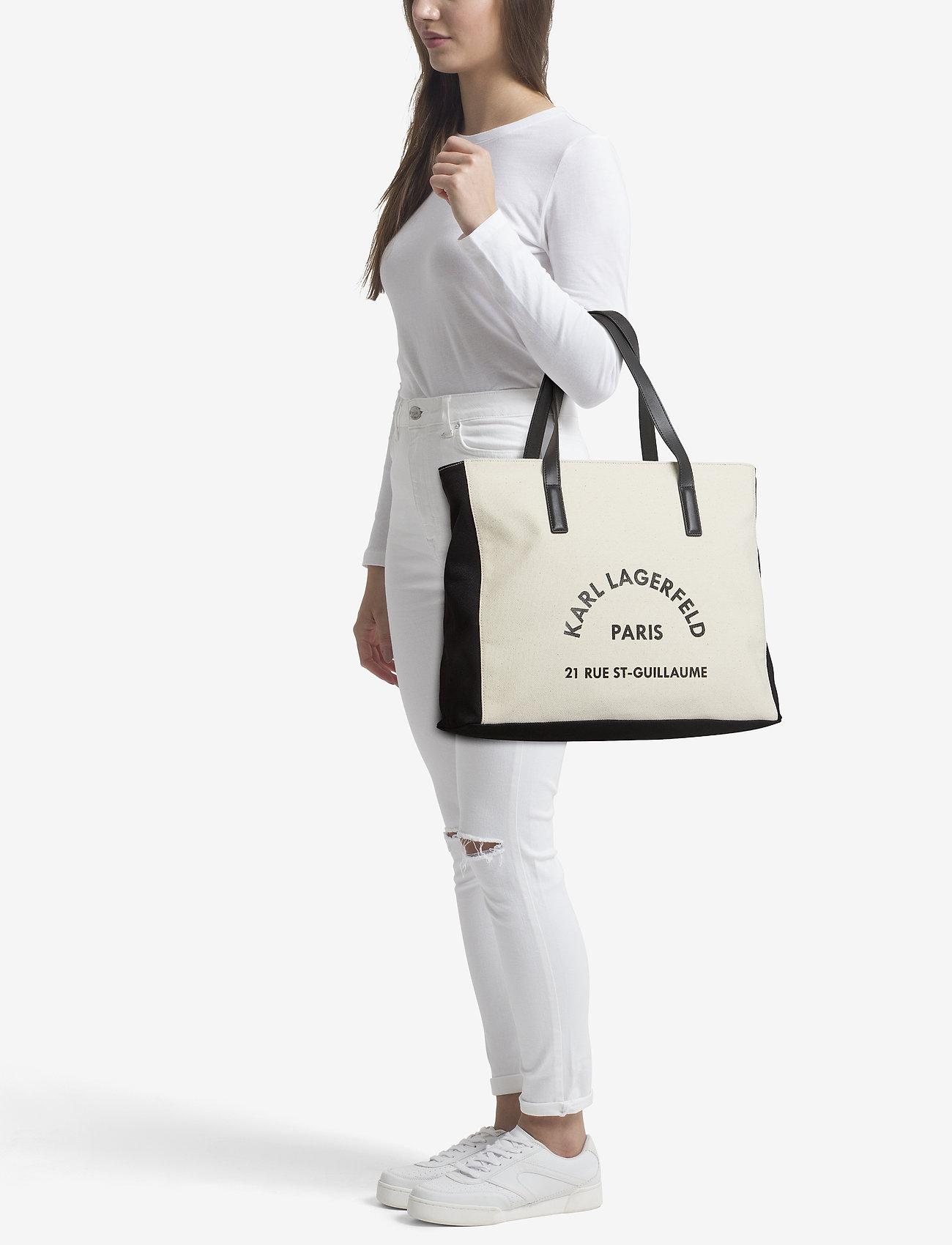 Karl Lagerfeld bags Rue Lagerfeld Cnvs Beachbag   Shoppers