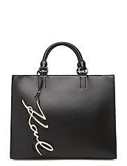 KARL LAGERFLED-Signature Shopper - BLACK/GOLD
