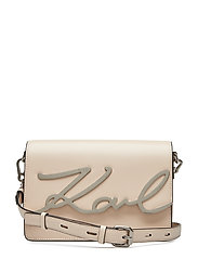 KARL LAGERFLED-Signature Shoulderbag - BEIGE