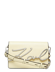 KARL LAGERFLED-Signature Shoulderbag - LEMON