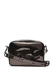 KARL LAGERFLED-Signature Gloss Camera Bag - NICKEL