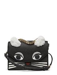 KARL LAGERFLED-Klassik Fun Mini Handbag - BLACK